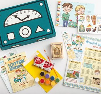 Mysteries in Time Educational Subscription Boxes